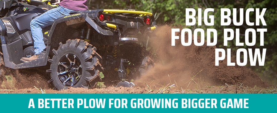 Big Buck Food Plot Plow - A Better Plow For Growing Bigger Game