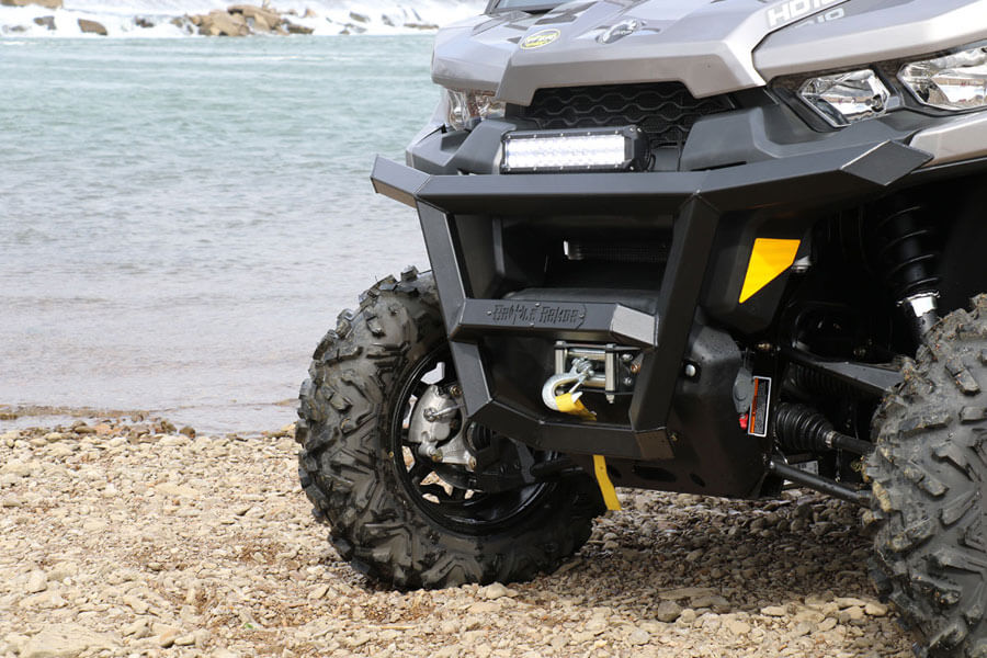 Battle Armor Custom UTV Bumpers and Winches