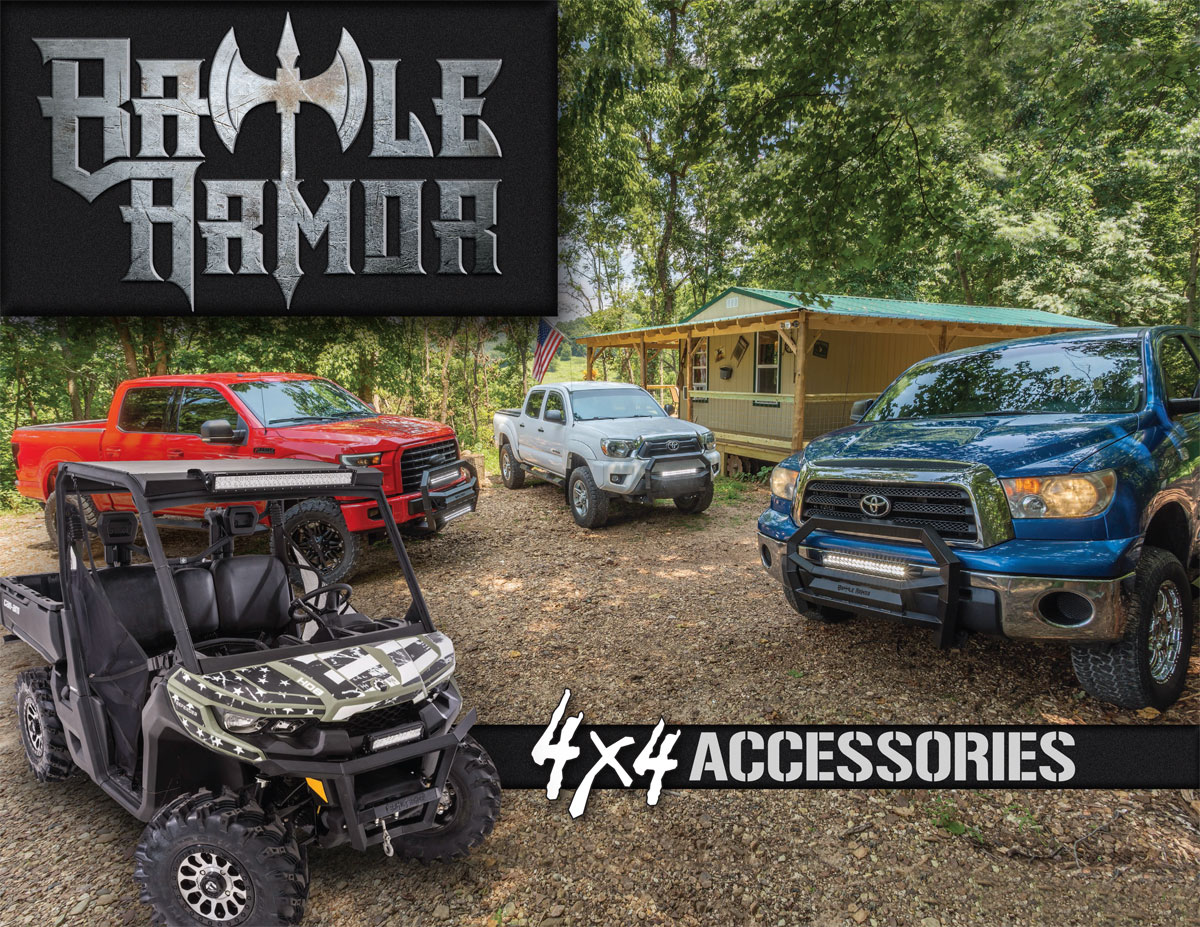 Battle Armor 4x4 Accessories Catalog