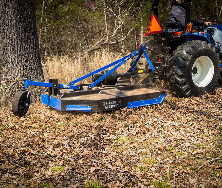 Produce ripping fast blade speeds with slip clutch or shear pin clutch options.