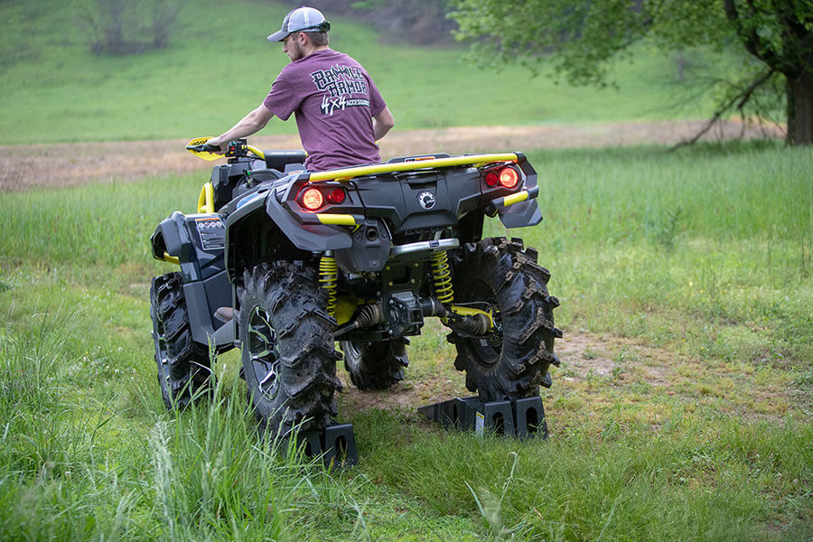 Big Buck Food Plot Plow - Lock the plow in transport position and make your way to your favorite back-woods area