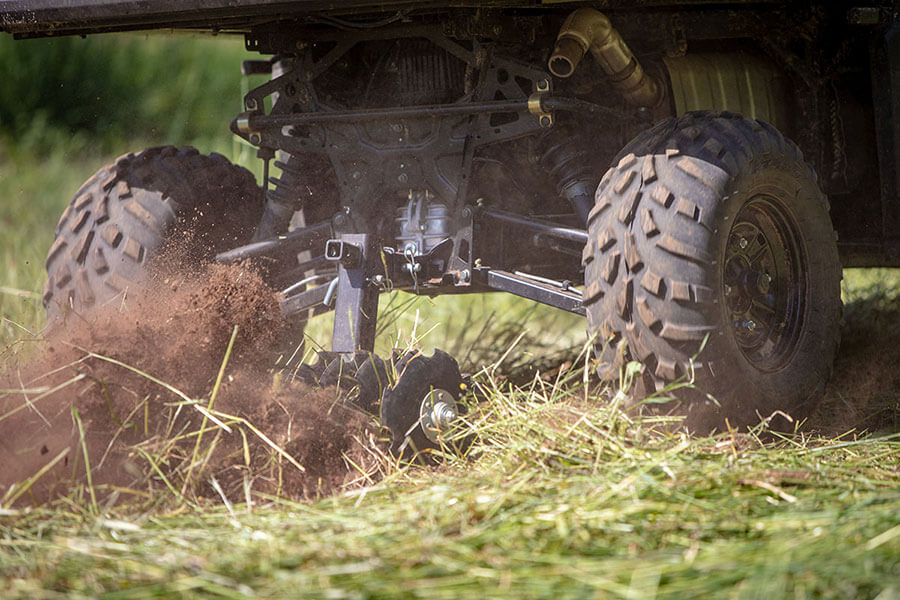 Big Buck Food Plot Plow - Aggressive discs engineered for a tighter turning radius, you'll plow, plant and finish faster