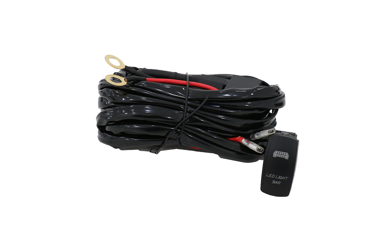 Rocker Switch Wiring Harness