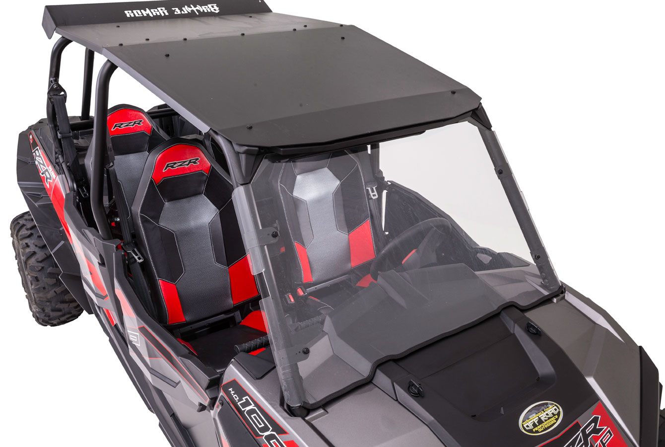 2014-2017 RZR DOUBLE CAB METAL ROOF
