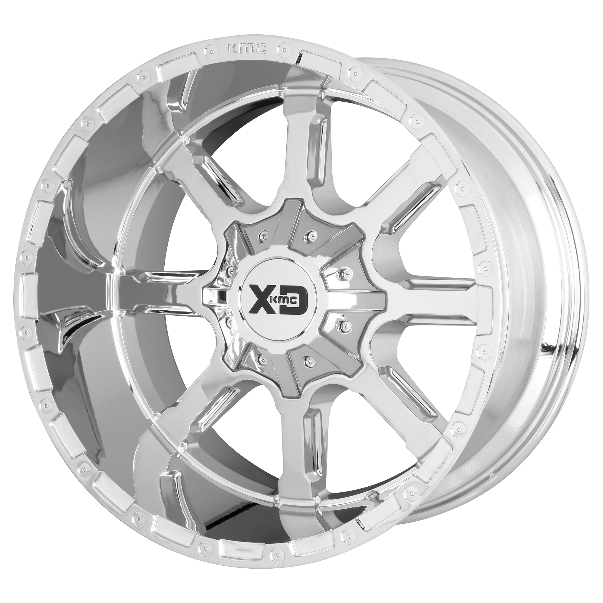 XD SERIES BY KMC WHEELS XD838 MAMMOTH Chrome Plated